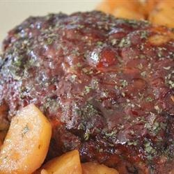 Tantalizingly Tangy Meatloaf - Glazed with Worcestershire, ketchup, brown sugar and pineapple preserves