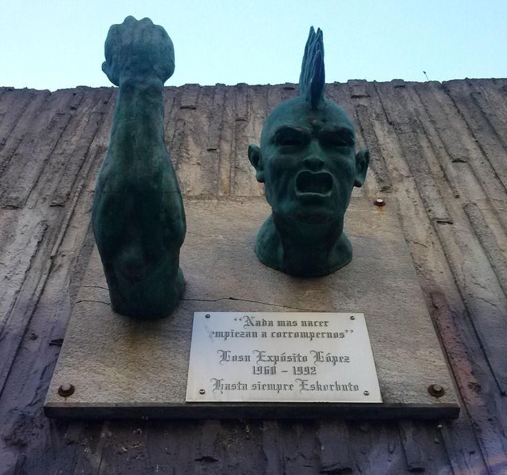 "Homenaje a Iosu Expósito ""Eskorbuto"" (Santurce)"