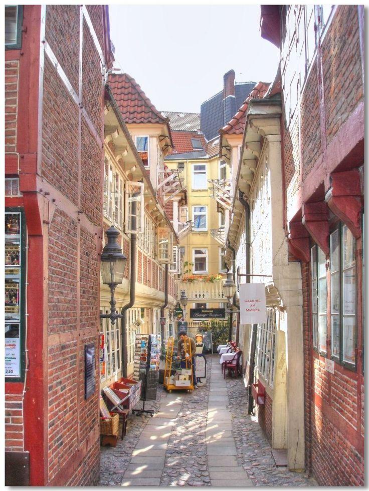 Hamburg Neustadt. Krameramtsstuben. Anno 1700.