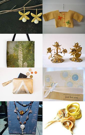 Golden Summer by Diana on Etsy--Pinned with TreasuryPin.com
