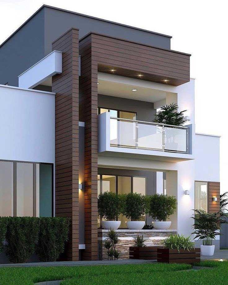 Most Popular Modern Dream House Exterior Design Ideas Duplex House Design House Designs Exterior Minimalist House Design