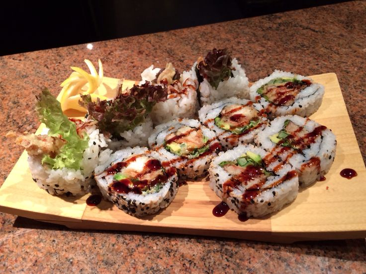Spider Roll Sushi