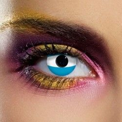 Argentinian Flag Contact Lenses (90 Day)