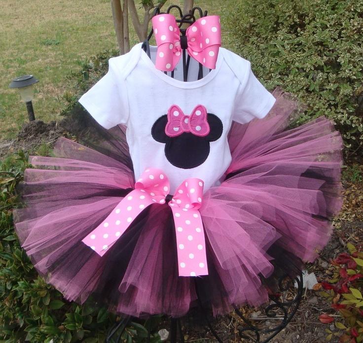 Increíble Vestidos De Fiesta Minnie Mouse Para Niños Pequeños Adorno ...