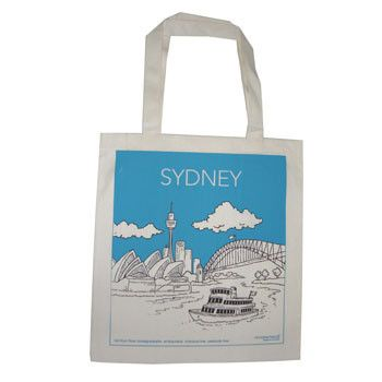 Australian Made Gifts & Souvenirs with the Sydney Cotton Shopping Bags -by…