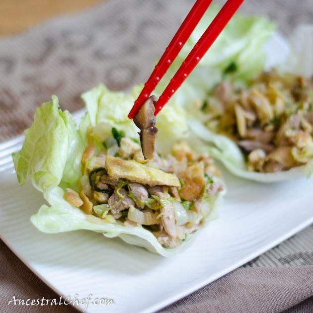 Traditional Mu Shu Pork (Paleo, Gluten-Free)http://paleomagazine.com/paleo-chinese-mu-shu-pork/ #paleo #gf #glutenfree #recipe #diet