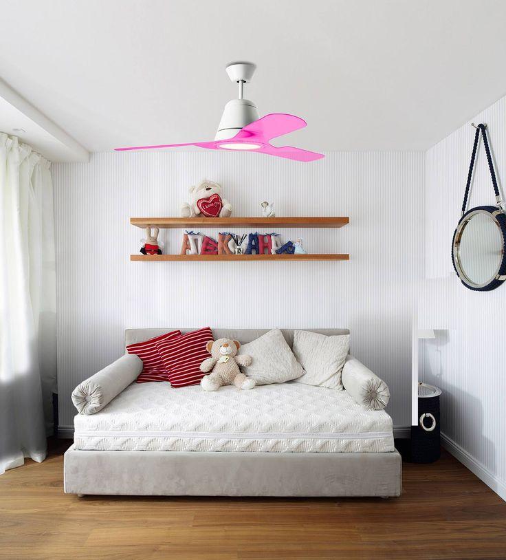 New coloured range for TIGA ceiling fan. Decorative I The One, LEDS-C4.