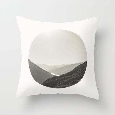 Outskirts of Queenstown Throw Pillow