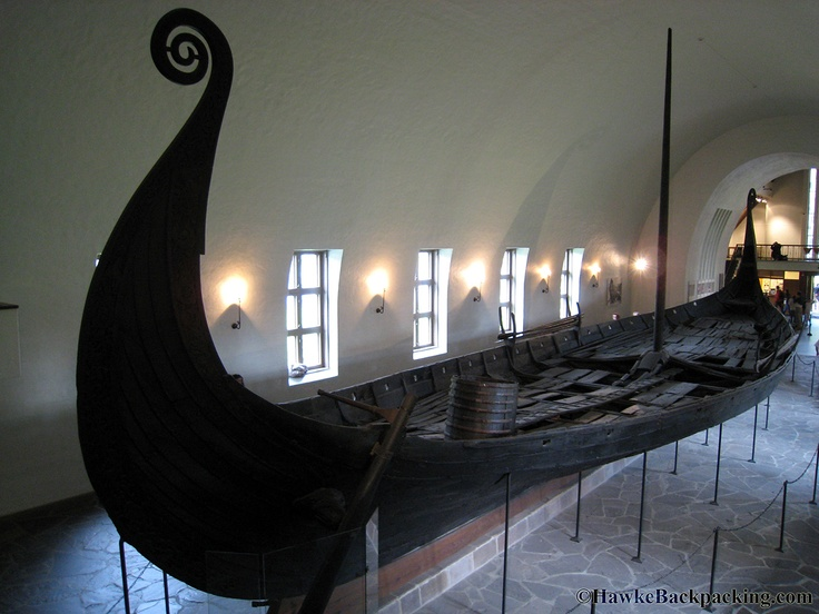 A real viking ship found in Norway and on display in Olso the capital of the country.  I got to see it in person.