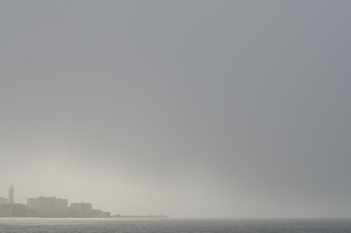 trieste and the fog