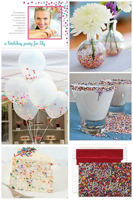 confetti-sprinkle-themed-party by finestationery, via Flickr