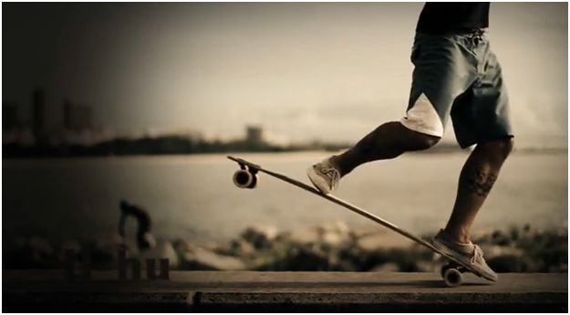 Longboarding photography wallpaper