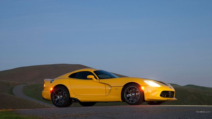 High Resolution Wallpaper = dodge srt viper gts