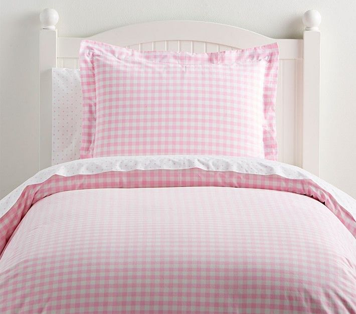 Organic Check Duvet Cover Twin Pale Pink Bed Linen Design Bed Linens Luxury Organic Duvet Covers