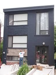 Image result for grey exterior masonry paint