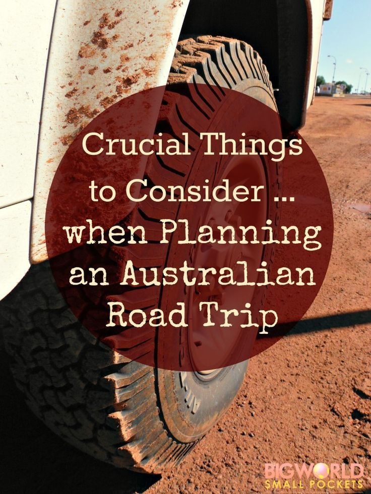 Key Checklist for Making Sure you're Prepared and Ready to Experience Freedom on the Open Australian Road {Big World Small Pockets}
