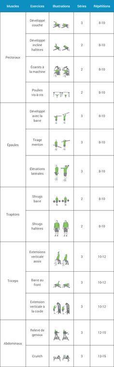 programme de musculation complet pour prise de masse pdf