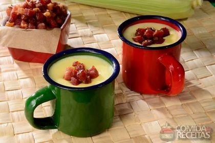 Receita de Caldinho de milho verde especial em receitas de sopas e caldos, veja essa e outras receitas aqui!