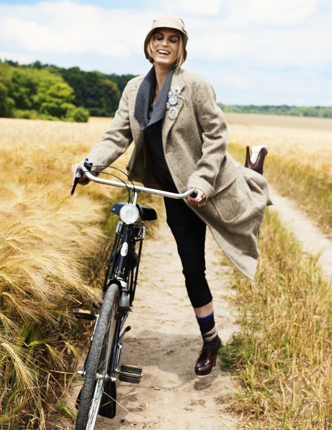 Normandie?  En bicylette?