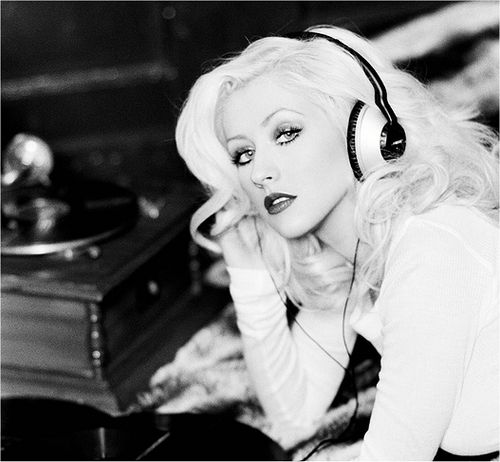 My favorite artist of all time, Christina Aguilera.