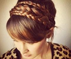 17 beste afbeeldingen over haarband vlecht op pinterest