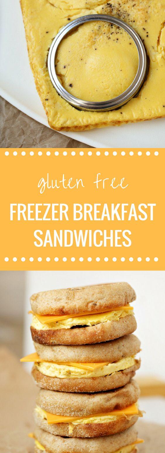 Gluten Free Freezer Friendly Breakfast Sandwiches | Happy Money Saver