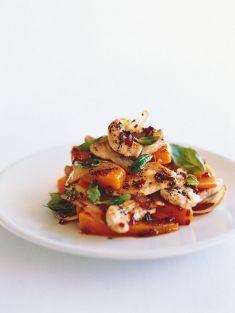Chicken and Pumpkin Stir-fry - Donna Hay