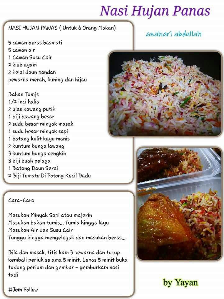 Doa Bunga Serai : bunga, serai, Aneka, Food,, Recipes,, Presentation