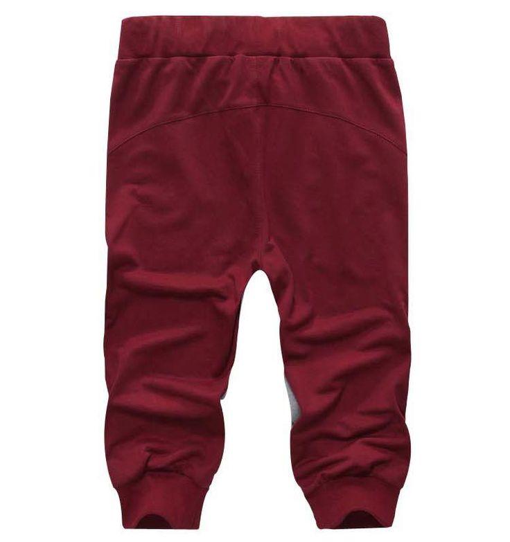 2015 verano nueva moda hombres de pantalones cortos de gimnasio correr disparos deporte algodón carta casual Shorts hombres 7 color en Shorts de Moda y Complementos Hombre en AliExpress.com | Alibaba Group