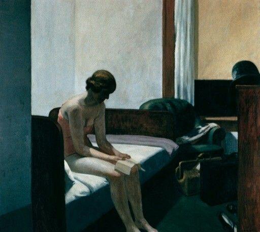Edward Hopper, Hotel Room 1931, Oil on canvas, 150 x 162.5 cm