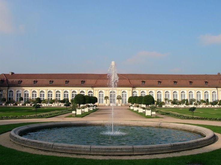 Orangerie Ansbach in Ansbach Bayern / Bavaria