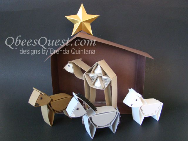 Qbee's Quest: Hershey's Nativity Part Two