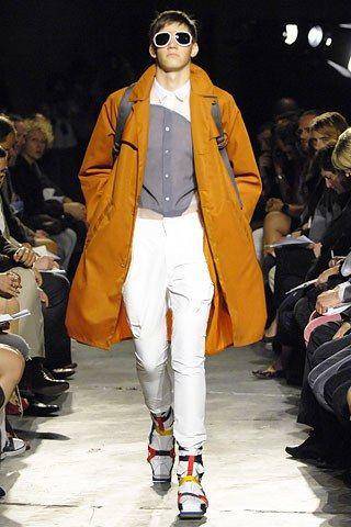 Raf Simons Spring 2008 Menswear Fashion Show