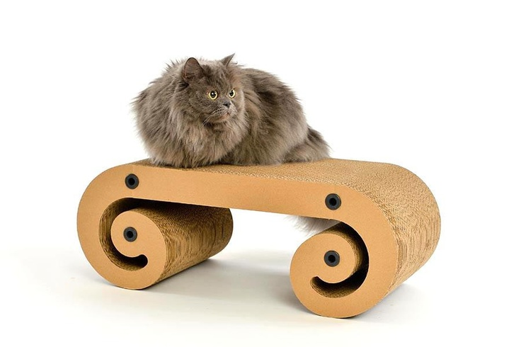 Ottoman Empurr $79.95  AVAILABLE @ WWW.LAZYCATSTORE.COM