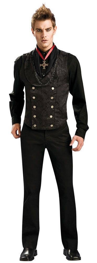 Haha If you don't look at the guys face or that lame cross he's wearing this is a really nice vest