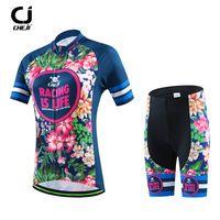 CHEJI Mountain Cycling Jersey Manica Corta Equitazione Da Corsa Sportswear Abbigliamento Ciclismo Ropa ciclismo Strada Bicycel Ciclismo Maglie