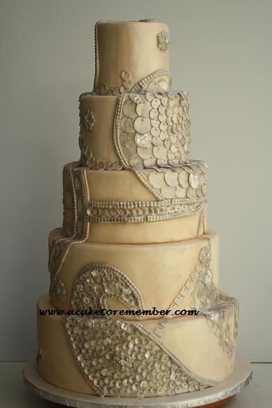 242 best Inspiring cakes metallic gold silver pearls bling