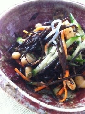 きゅうりとひじきのダイエットサラダ