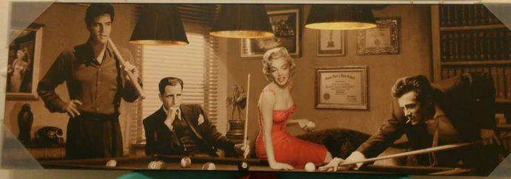 Elvis Presley Humphrey Bogart Marilyn Monroe And James