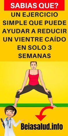Un ejercicio simple que puede ayudar a reducir un vientre caído en solo 3 semanas
