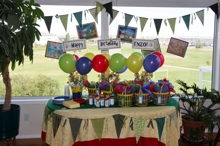 Toopy and Binoo party.... created by ME (Dream Theme Kids Parties)