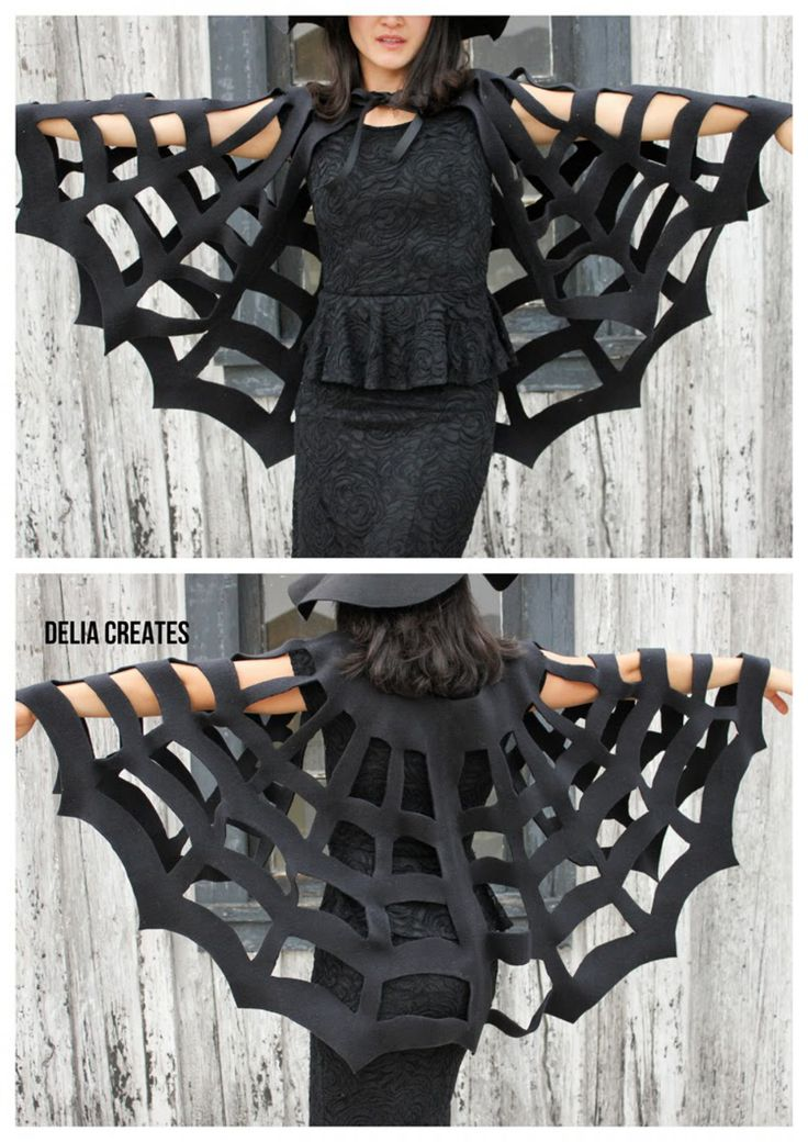 Coole Idee für ein Halloween Kostüm und ich brauche nicht einmal nähen:) Das kriege sogar ich hin