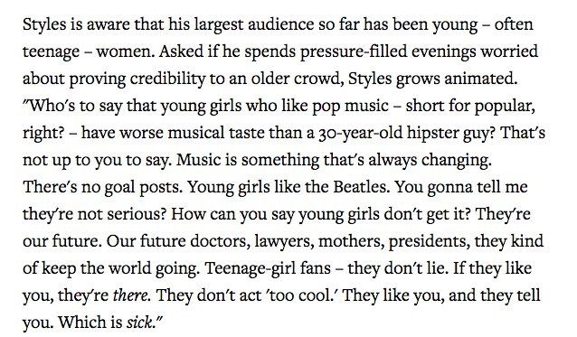 Harry Styles for Rolling Stones