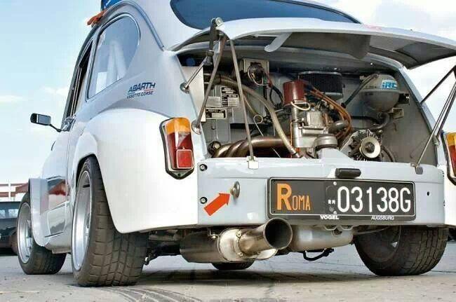 bikesandcars: Fiat 600 Abarth Assetto Corse