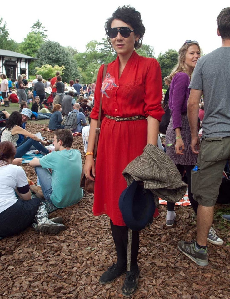 The End of the Road festival in Dorset, Street Style