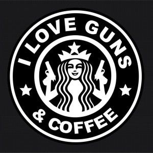 Love Guns Funny Window Decals –…