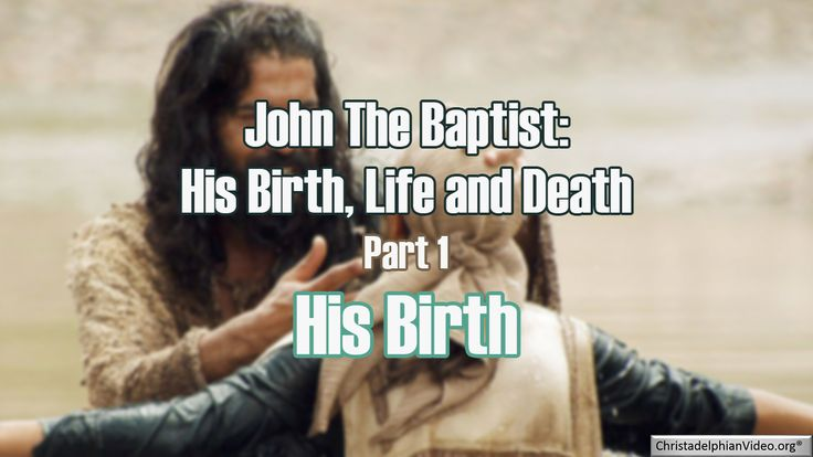 Excellent series by Coventry West Christadelphians documenting the birth, life and death of John the Baptist – this study looks at each aspect of the life of this wonderful forerunner to the …