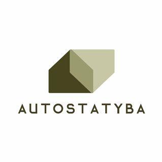 Autostatyba logotipas | Bruknės Dizainas