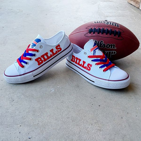 Buffalo Bills Converse Style Sneakers - http://cutesportsfan.com/buffalo-bills-designed-sneakers/