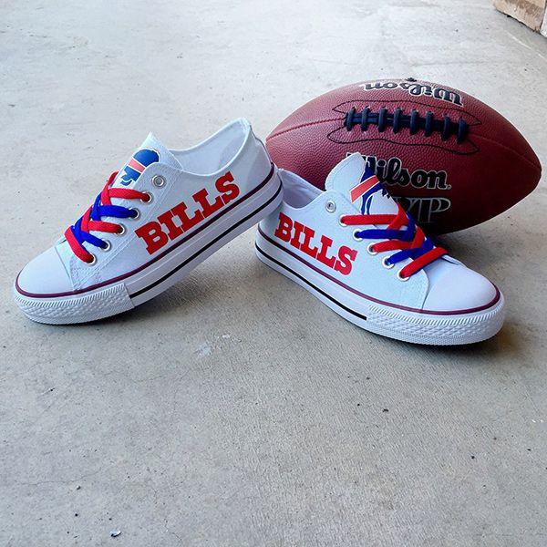 Buffalo Bills Converse Style Sneakers - http://cutesportsfan.com/buffalo-bills-designed-sneakers/